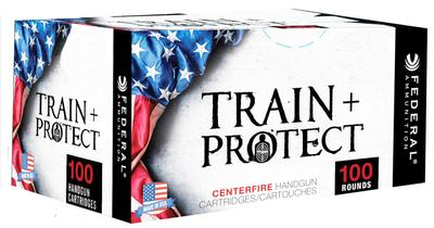Federal TP40VHP2 Train and Protect 40 Smith & Wesson (S&W) 180 GR Verstile Hollow Point (VHP) 100 Bx/ 5 Cs