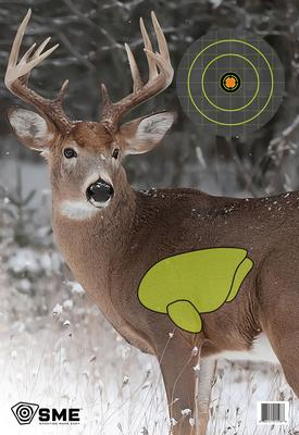 SME SMETRGDEER Deer Vital Point Target 3 Pack 16.5