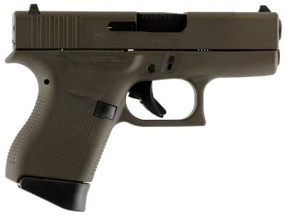 Glock PI4350201 G43 Subcompact Double 9mm Luger 3.39