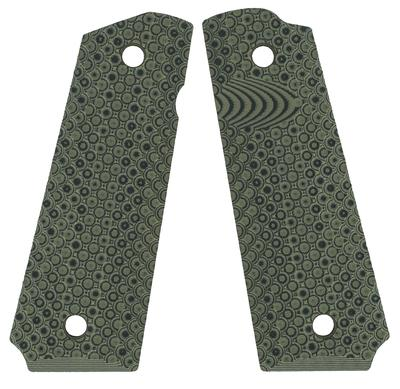 VZ Grips RECDOXA 1911 VZ Recon Grip Panels Aggressive Textured G10 Olive Green
