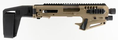 Command Arms MICRONISTAB17 Micro Roni Stabilizer for Glock 17/22/31 Gen 3/4 Polymer/Aluminum Flat Dark Earth