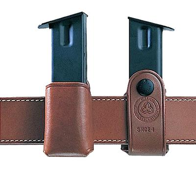 Galco SMC24 Single Mag Case Snap 24 Fits Belts up to 1.75