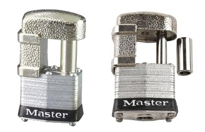 Master Lock 37D Armored Trailer Lock Silver