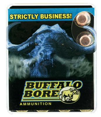 Buffalo Bore Ammunition 35C/20 460 Rowland 230 GR Full Metal Jacket Flat Nose 20 Bx/ 12 Cs
