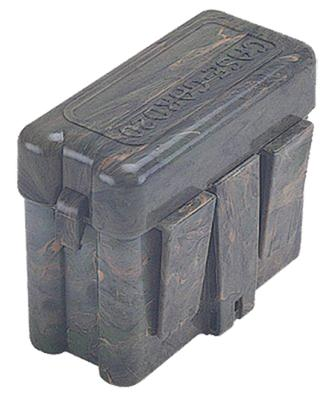 MTM RM2010 Flip-Top 20rd Med Rifle Ammo Belt Box Green Poly