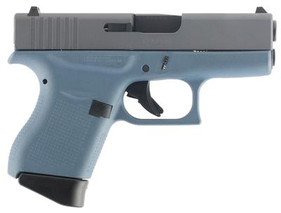 Glock PI4350201BTT G43 Subcompact Double 9mm Luger 3.39