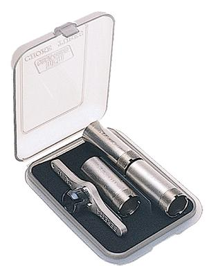 MTM CT341 Small Choke Tube Case 3 Extended Poly Clear Smoke