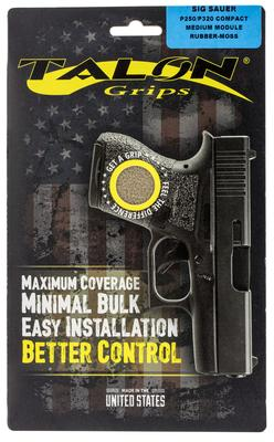 Talon 001M Sig P250/320 Compact Rubber Adhesive Grip Textured Moss