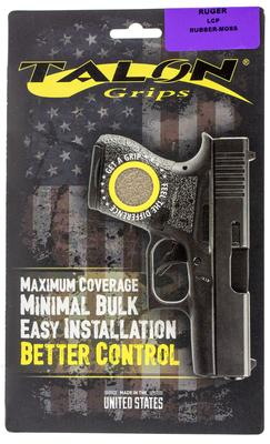 Talon 501M Ruger LCP Rubber Adhesive Grip Textured Moss