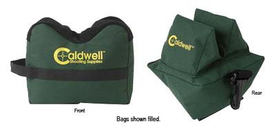 Past 939-333 DeadShot Front/Rear Combo Rest Bag Filled Green 600D Polyester