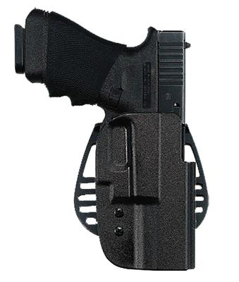 Uncle Mikes 54241 Kydex Paddle Holster Size 24 Sig 225/228/229/245 Kydex Black
