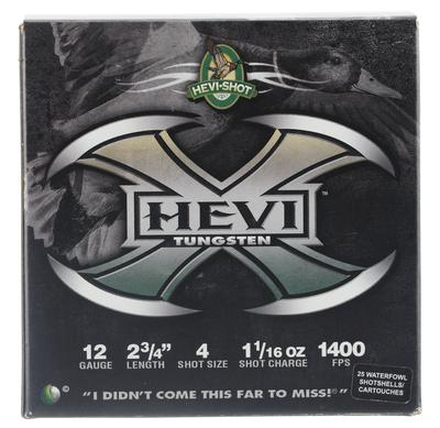 Hevishot 50274 Hevi-X Waterfowl 12 Gauge 2.75