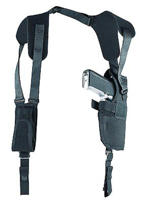 Uncle Mikes 83001 Sidekick Vertical Shoulder Holster Fits up to 48