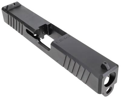 Polymer80 P80PS9CSTDDL G19 Gen3 Compatible Slide 17-4 Stainless Steel Black PVD