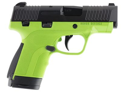 Honor Defense HG9SCMSAG Honor Guard Sub-Compact Double 9mm Luger MS 3.2