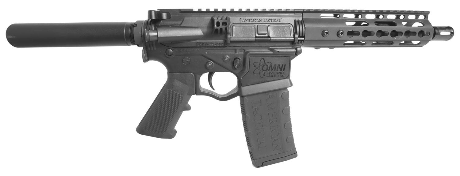 Ati Gomx300p4 Omni Hybrid Maxx Ar Pistol Semi- Automatic 300 Aac Blackout/Whisper (7.62x35mm) 8.5