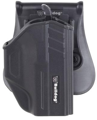 Bulldog TR-SWMP Thumb Release Holster S&W M&P/M&P 2.0 Polymer Black