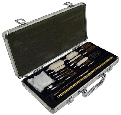 Hoppes UAC76 Universal Accessory Cleaning Kit 26 Piece w/Stainless Case
