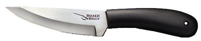 Cold Steel 20RBC Roach Belly Fixed Stainless Trailing Point Blade Polypropylene