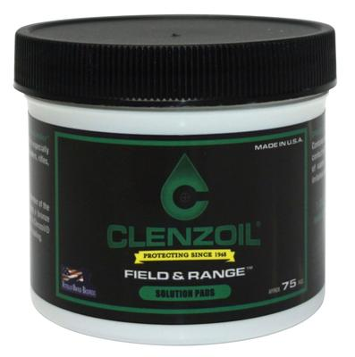 Clenzoil 2014 Field & Range Patch Kit Cleaner/Lubricant/Protector 50 Cal/12 GA 75 Pk