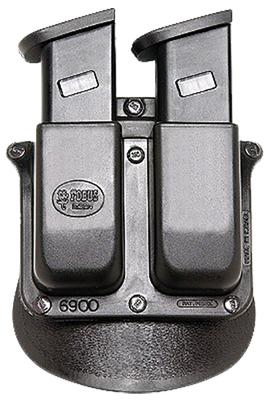 Fobus 6945HP DOUBLE MAG PADDLE 6945HP Double Stack Black Plastic
