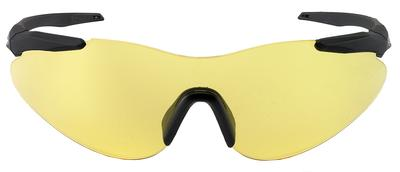 Beretta OCA100020201 Soft Touch Shooting Glasses Black Frame Yellow Lenses
