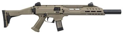 CZ 08543 Scorpion EVO 3 S1 Carbine with Fux Suppressor Semi-Automatic 9mm Luger 16.2