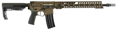 Patriot Ordnance Factory 01443 Renegade Plus Semi-Automatic 300 AAC Blackout/Whisper (7.62x35mm) 16.5