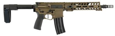 Patriot Ordnance Factory 01463 Renegade Plus AR Pistol Semi-Automatic 300 AAC Blackout/Whisper (7.62x35mm) 10.5