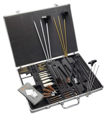 Hoppes UACPR Premium Cleaning Rifle Kit 37 Piece w/Stainless Case