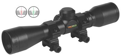 Truglo TG8504B3 Crossbow 4x 32mm Obj 22.5 ft @ 100 yds FOV 1