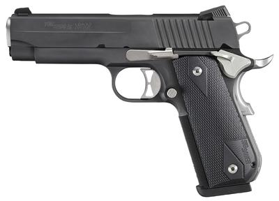 Sig Sauer 1911FCAM45NM 1911 Fastback Nightmare Carry *MA Compliant* Single 45 Automatic Colt Pistol (ACP) 4.2