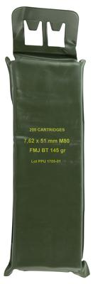 PPU PPN762BP Mil-Spec M80 Battle Pack 308 Winchester/7.62 NATO 145 GR Full Metal Jacket Boat Tail 200 Bx/ 5 Cs