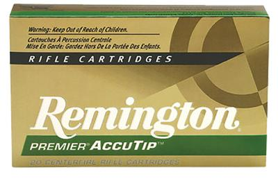 Remington Ammunition PRA3006B Premier 30-06 Spg AccuTip 165 GR 20Box/10Case