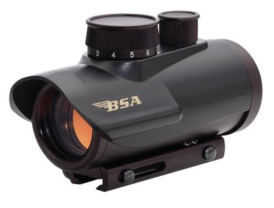 BSA RD30 RD30 1x 30mm Obj Unlimited Eye Relief 5 MOA Black