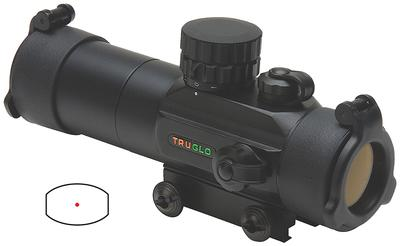 Truglo TG8030GB Gobble Stopper 1x 30mm Obj Unlimited Eye Relief 3 MOA Black