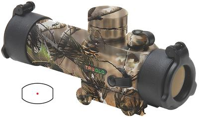 Truglo TG8030GA Gobble Stopper 1x 30mm Obj Unlimited Eye Relief 3 MOA Realtree APG