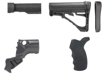TacStar 1081220 Shotgun Collapsible Stock Kit Mossberg 500 Polymer Black