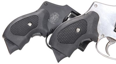 Pachmayr 02607 Guardian Grip Ruger LCR Polymer Black