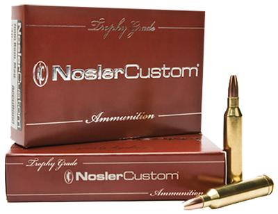 Nosler 60055 Trophy 30-06 Springfield 150GR Partition 20Bx/10Cs Brass