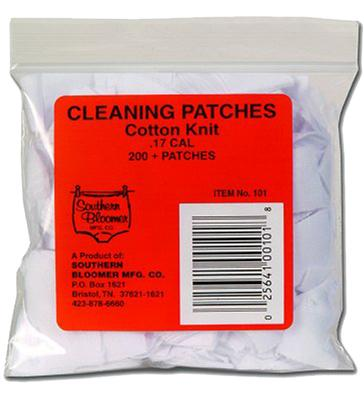Southern Bloomer 1021 Cleaning Patches 45 Cal