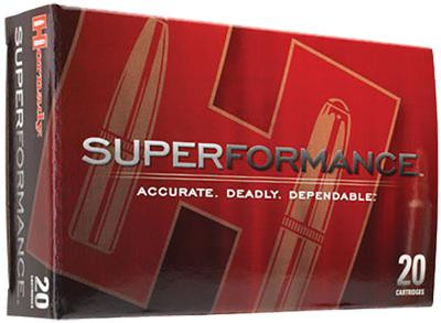 Hornady 80633 Superformance 7mm Remington Magnum 162 GR SST 20 Bx/ 10 Cs