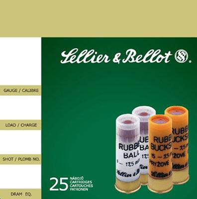 Sellier & Bellot SB12RSA Special Rubber Ball 12 Gauge 2.75