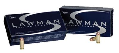 Speer 53955 Lawman 40 Smith & Wesson Total Metal Jacket 165 GR 50Box/20Case