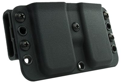 Blade-Tech AMMX0111EMSW Eclipse Double Mag Pouch Black Injection Molded Thermoplastic