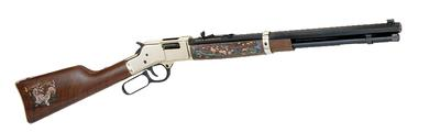 Henry H006WL2 Big Boy Wildlife Edition II Lever 44 Remington Magnum 20
