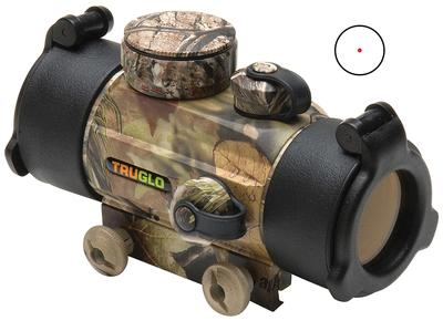 Truglo TG8030A Traditional 1x 30mm Obj Unlimited Eye Relief 5 MOA Realtree APG