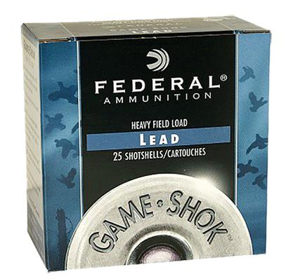 Federal H12375 Game Shok Heavy Field 12 ga 2.75
