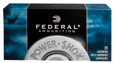 Federal 3030C Power-Shok 30-30 Winchester Hollow Point 125 GR 20Box/10Case