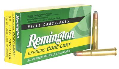 Rem Ammo R32WS2 Core-Lokt 32 Win Special Soft Point 170 GR 20Box/10Case